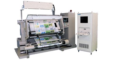 印刷面検査装置搭載可能型巻替機