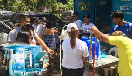 Bringing 'clean water' to the world
